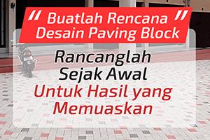 desain paving block