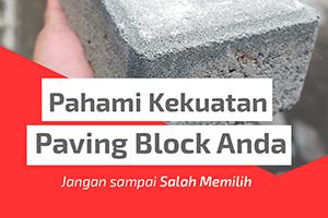 kekuatan paving block